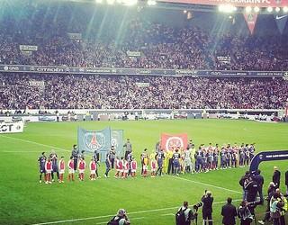 PSG Pre-match Handshake