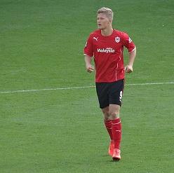Andreas Cornelius -Cardiff City