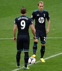 Christian Eriksen & Roberto Soldado - Tottenham